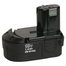 HITACHI EB1814SL 324365 18 Volt 1.4 Amp Hour 18V Nickel Cadium Pod Style Battery