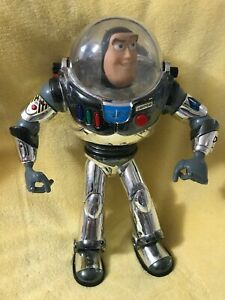 SILVER BUZZ LIGHTYEAR FROM TOY STORY