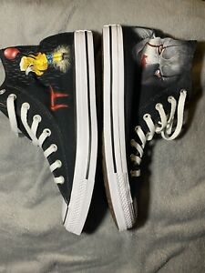 Converse Shoes All Stars It Movie Pennywise Custom Hand Painted Chuck Taylors