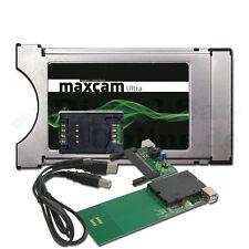 ► SET MaxCAM Ultra CI Modul  DGCrypt + MaxCAM USB Programmer HD NEU Version 2