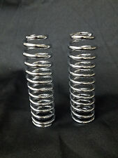 HARLEY HD 45 61 74 UPPER OUTER CHROMED SPRINGER FORK SPRINGS (pair) 46055-30