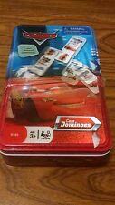 Disney Pixar Cars Movie Dominoes Game With 3D Cover 100% Complete Board Games