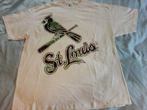 New St. Louis Cardinals Camo Shirt Men's Size XL, MLB Baseball  ⚾ ⚾