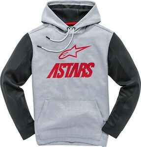 ALPINESTARS CONVERGE FLEECE GREY HEATHER/RED 2X