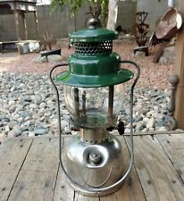 Coleman Green and Chrome Camping Lantern Model 242C Dated 7/9 VGC 242 C
