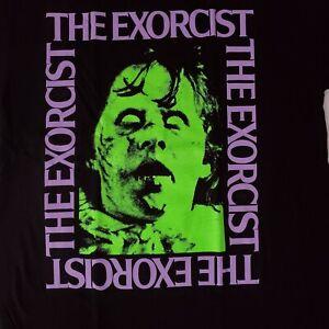FREE SAME DAY SHIPPING Brand New THE EXORCIST Regan Demon Shirt LARGE