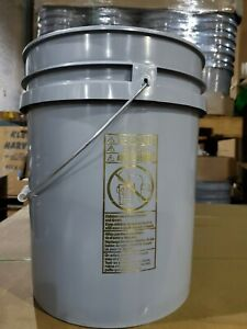 5 Gallon All Purpose Bucket/Pail With Lid 90 Mil.