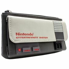 NEW OFFICIAL NES CONSOLE THEME GREY COIN & CARD CLUTCH PURSE
