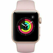 Apple Watch Series 3 38mm ROSE Gold (GPS) Aluminium Case with Sport Band B GRADE