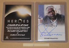 Rittenhouse HEROES Archives Autograph signed card Richard Roundtree (b)