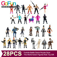 28Stk Fortnite Figuren Vinyl Royale Save The World Action-figuren Geschenk NEU