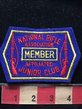 NRA Member National Rifle Association Affiliated Junior Club Patch 75WZ