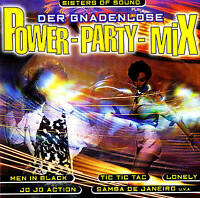 """Sisters of Sound """" the Merciless Power Party Mix """" CD New & orig. Box BMG Ariola"""