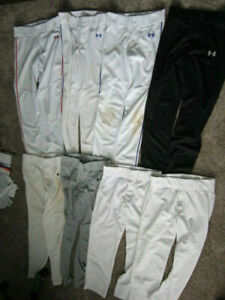 Youth Baseball Pants (8 pairs)  6 Under Armor 2 Alleson Athletic YL/YXL