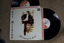 Cat Stevens Mathew & Son 2 Records lps original vinyl album