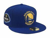 Golden State Warriors New Era Cap NBA 1946 Team Superb 59Fifty Fitted Hat - Blue