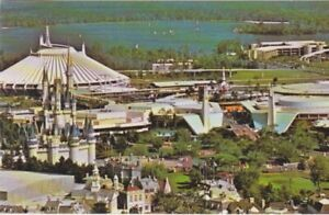 Aerial View-Cinderella Castle & Space Mtn-Walt Disney World-ORLANDO, Florida