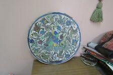 "Antique Iznik Armenian Poly-chrome Glazed Pottery Tile Art Hunting Scene 16"""
