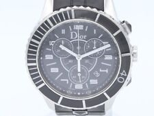 Dior Christal Quartz Steel Lady CD114317