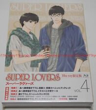 SUPER LOVERS Vol.4 First Limited Edition Blu-ray Radio CD Manga Booklet Japan