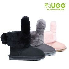 UGG kids Boots Buddy Bunny Double Face Sheepskin Non Slip