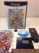 Phantasy Star Online: Episode I & II (Nintendo GameCube, 2002) Complete W/ Modem