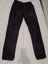 Free People Sequin Party Pant in Black Ret $168.00 SZ XS/TP