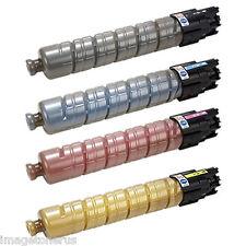 4-Pack Toner Set for Ricoh Aficio MP C2003 MP C2503 MPC2003 MPC2503 841918 Savin
