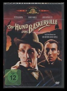 DVD DER HUND VON BASKERVILLE - CHRISTOPHER LEE + PETER CUSHING (Hammer-Studios)