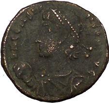 Constans Gay Emperor Constantine the Great son with labarum Roman Coin i35509