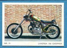MOTO - Ed. Raf - Figurina/Sticker n. 71 - LAVERDA 750 CHOPPER -Rec