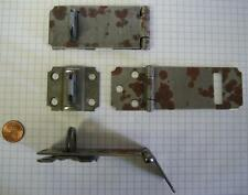 """Stanley #915-3.5"""" Safety Hasp, Steel, Plain Steel"""