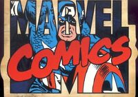 MARVEL 70 70TH ANNIVERSARY  DIE-CUT CHARACTER INSERT CARD C1 CAPTAIN AMERICA MA