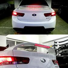 Rear Trunk LED Spoiler UNPAINTED For KIA 2008 - 2011 Forte Cerato Sedan / Koup