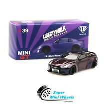 Mini GT 1:64 LB Works Nissan GT-R R35 Magic Purple #39 Japan Exclusives