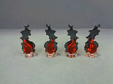 TT Combat Wargames - Wound Markers - Fire Markers (4)