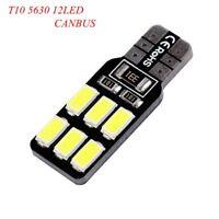 2Pcs Transportar T10 12SMD 5630 6000k Coche De Luz LED Lámpara Bombillas
