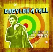 """LEE """"SCRATCH"""" PERRY - BABYLON A FALL: THE BEST OF LEE PERRY NEW CD"""