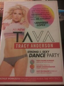 Tracy Anderson - Tava:  Strong and Sexy Dance Party DVD - NEW and SEALED
