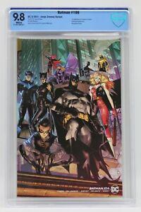 Batman (2016) #106 Jimenez Wraparound Cover CBCS 9.8 Blue Label White Pages