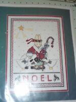 BUCILLA COUNTED CROSS STITCH  KIT, NOEL BUNNY