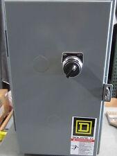 SQUARE D  LIGHTING CONTACTOR ENCLOSED   MODEL: 8903SMG10V02C6