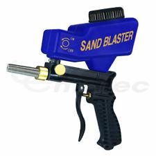 Hand Held Portable Media Spot Sand Blaster Gun Air Gravity Feed Sandblaster Rust