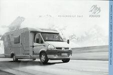 Preisliste Knaus Reisemobile 2007 Wohnmobile Motorcaravan Preise Traveller Sun