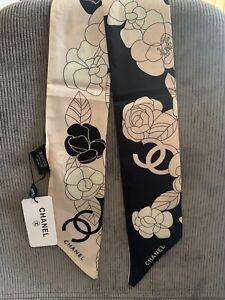 Chanel Seidentuch Schal