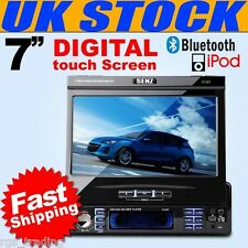 "7"" LCD TOUCHSCREEN CAR DVD PLAYER iPOD MP3 SD USB BLUETOOTH  NEW ***UK STOCK***"