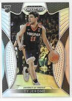 2019-20 Prizm Draft Ty Jerome Silver Holo Rookie SP No. 24