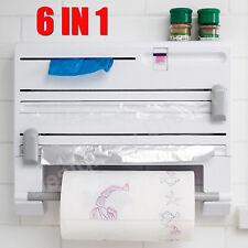 Kitchen Multifunction Film Storage Rack Shelving Cutter 6 IN 1 / 3 IN 1 Hot sale