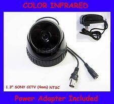 "security camera cctv color infrared 1/3"" sony lenses 4mm 420TV surveillance cam"