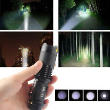 20000LM CREE XM-L T6 LED Flashlight 5Mode ZOOM Tactical&Military Torch Light Fun
